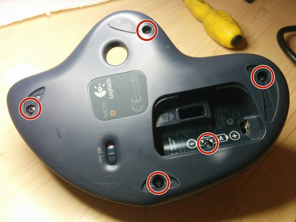 Remove 3 pads as shown in the picture