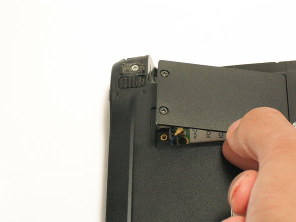 Lift up the panel and remove it from the case.
