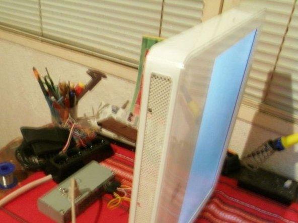 """iMac G5 17"""" Model A1058 Inverter pinout 6 pin"""