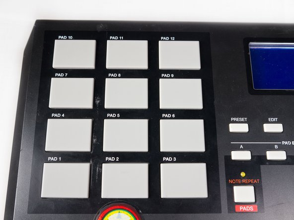 Akai MPK25 Beat Pad Replacement
