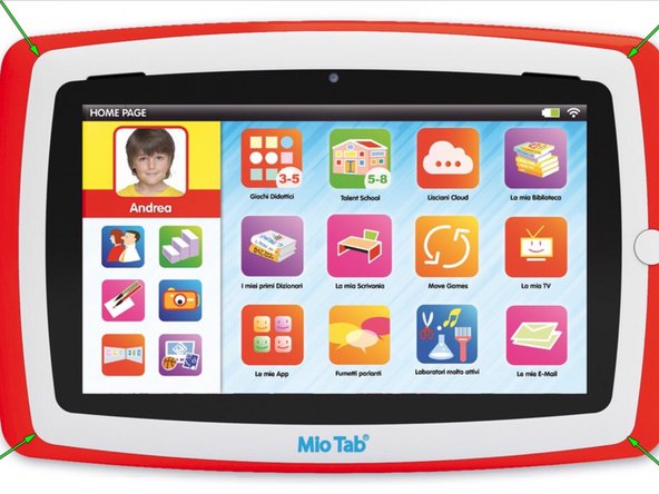 Mio Tab Lisciani Touch Screen Replacement