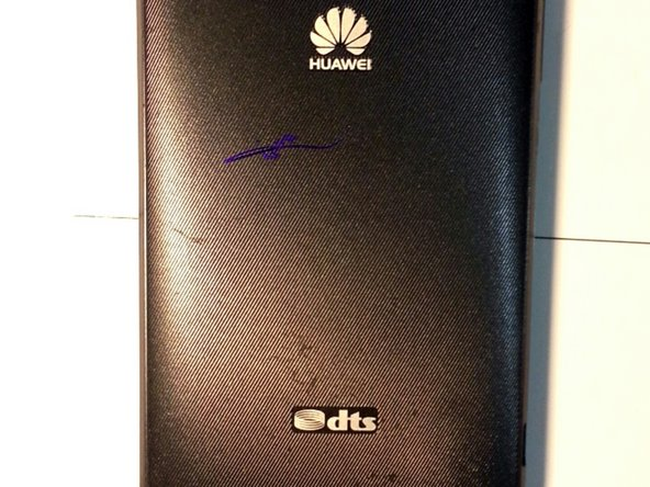 That's back of Huawei ascend g510