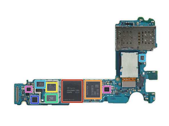 With that, it's time to digitally convey some chip ID. On the front side of the motherboard, we note: