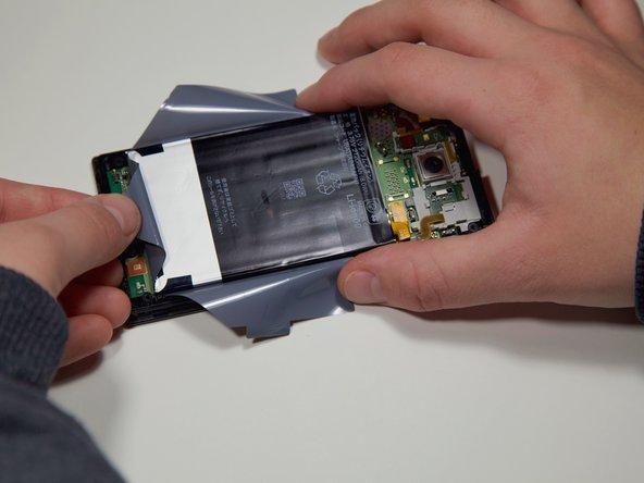 Sharp Aquos Serie mini SHV31 Battery Replacement