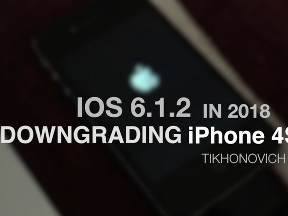 How to install iOS 6 iPhone 4S ( Video )