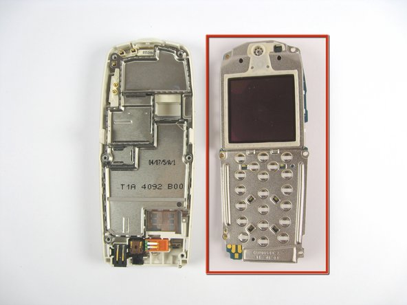 Remove the screen assembly from the phone base.