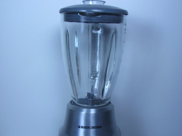Before disassembling the blender base, make sure the blender disconnected from any power outlet.