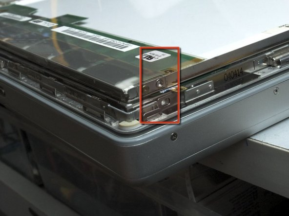 """Drill four 1.5mm~2mm(1/16""""~5/64"""") diameter, 3mm(1/8"""") deep holes at the left and right side of panel at the position corresponding to original LCD panel. Do NOT drill the glass!!."""