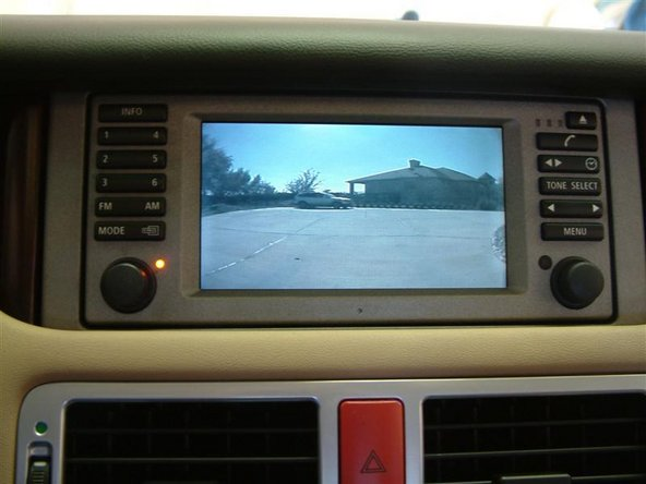 1997-2003 BMW 5 Series Reverse Backup Camera Replacement