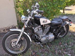 Harley-Davidson Sportster Evolution修理