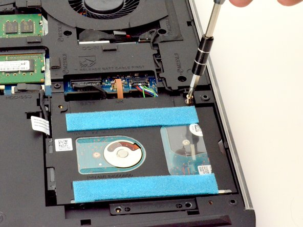Alienware 17 R4 Hard Disk Drive (HDD) Replacement