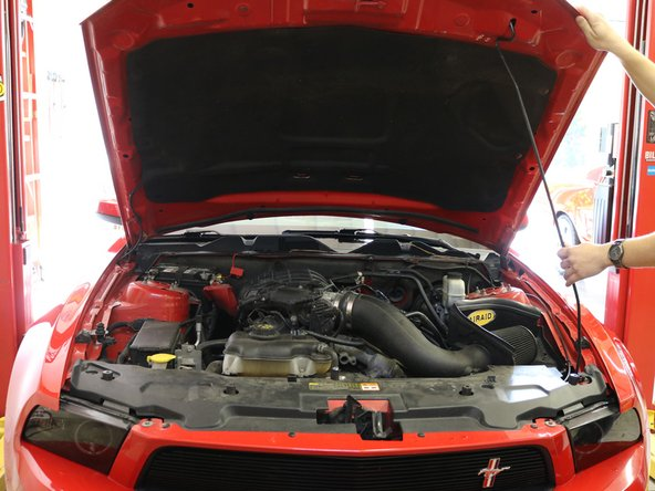2010-2014 Ford Mustang Spark Plug Replacement