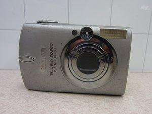 Canon PowerShot SD500 Digital ELPH Repair