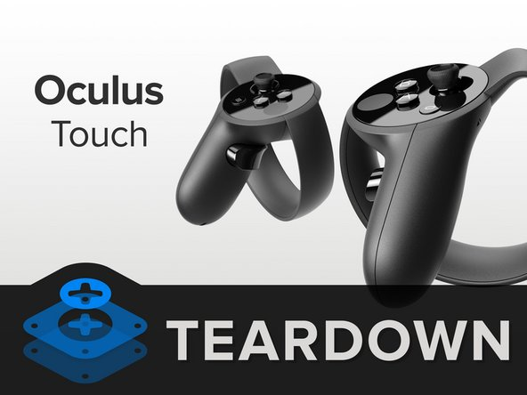 Before we tear down, we take the opportunity to ogle the Oculus Touch system, which includes: