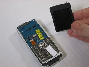 Sony Ericsson QuickShare T630 Screen