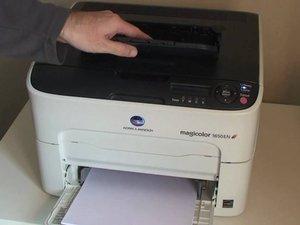 Konica Minolta Magicolor 1650E Printer Repair