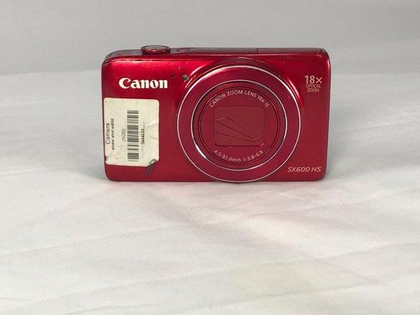Canon PowerShot SX600 HS Batteriewechsel