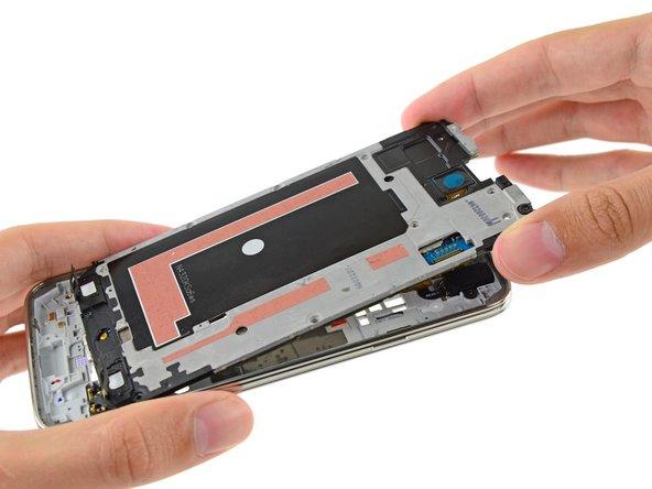 Sostituzione gruppo centrale interno Samsung Galaxy S5