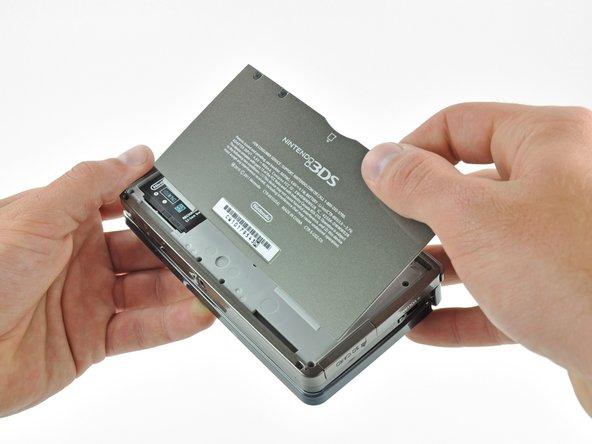 Sostituzione cover posteriore Nintendo 3DS