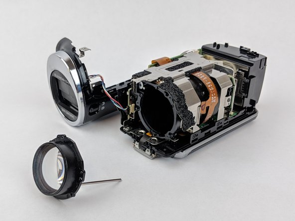 Samsung HMX-F90 Lens Replacement