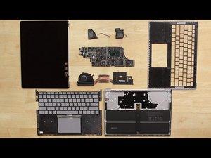 Microsoft Surface Laptop 2 Teardown