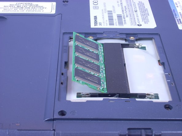 Toshiba Satellite 1805-S177 RAM Replacement