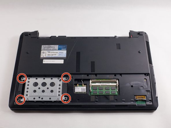 Asus K53E-BBR3 Hard Drive Replacement