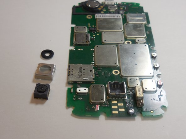 Motorola Moto E Rear Facing Camera Replacement
