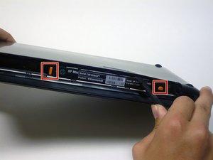 Disassembling HP Mini 210 Back Case