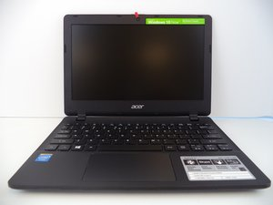 Acer Aspire E 11 Troubleshooting