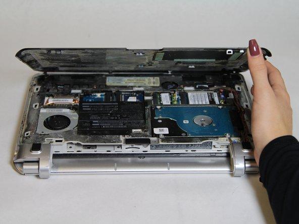 HP Pavillion dm1-3010nr Hard Drive Replacement