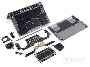MacBook Pro (15 Zoll, Ende 2016, Touch Bar) Teardown