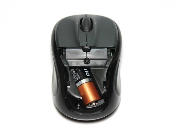 Logitech V220 - Cordless Optical Mouse Battery Replacement