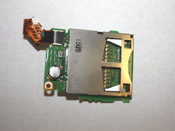 Panasonic Lumix DMC-ZS6 SD Card Reader Replacement