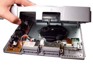 PlayStationのケースの分解