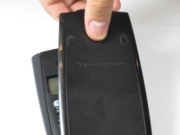 Smontaggio Cover Posteriore TI-36X Pro