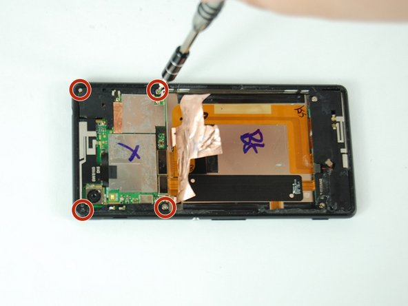 Sony Xperia M4 Aqua Rear Camera Replacement