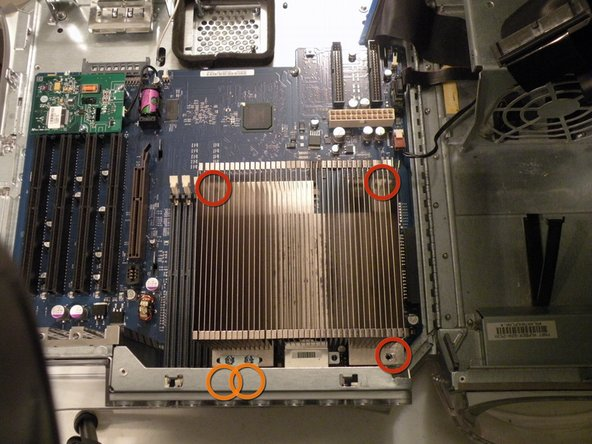 Power Mac G4 MDD CPU Heatsink Replacement