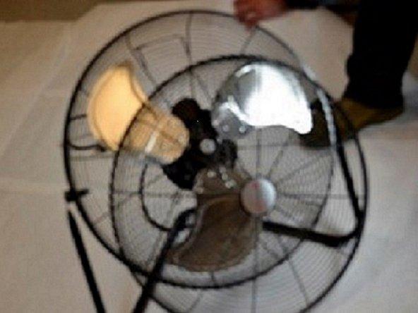 Remove the fan cover.