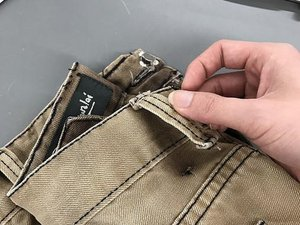 How to Fix a Ripped Belt Loop on a Pair of Jeans