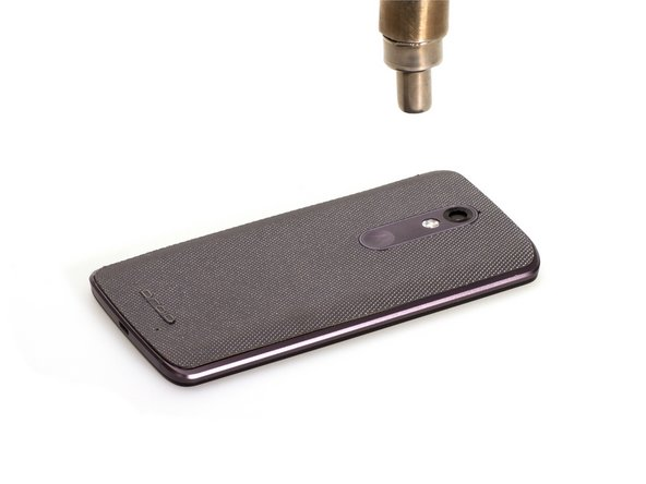 Use heat gun to heat up back cover firstly.