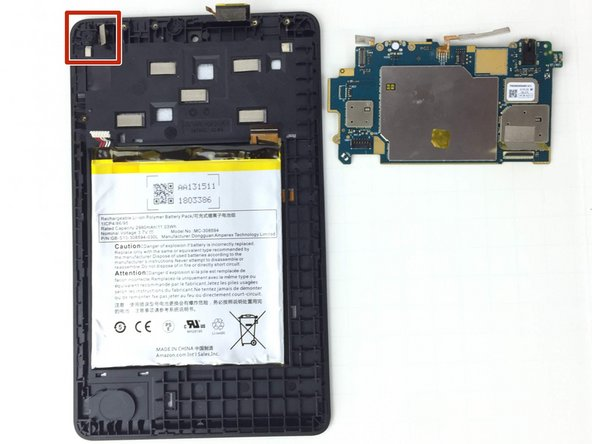 Amazon Fire 5th Generation Rear Camera Replacement