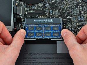 2009年中 15寸 MacBook Pro 一体化机RAM 更换