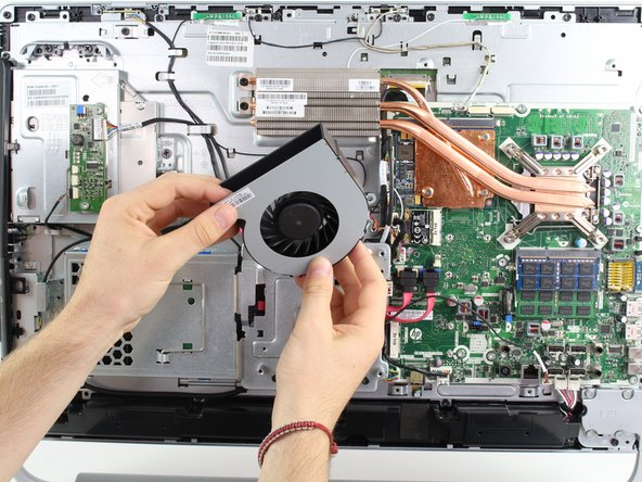 HP Envy 23-d060qd TouchSmart Fan Replacement