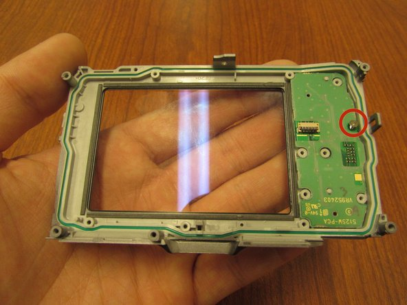 Olympus Tough TG-1 Circuit Board For Back Buttons Replacement
