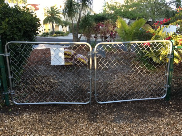 How to Replace a Chain Link Fence Gate