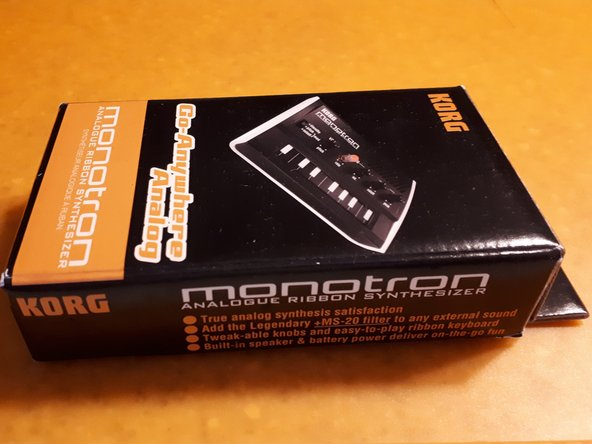 Here it is.... the Monotron !!!