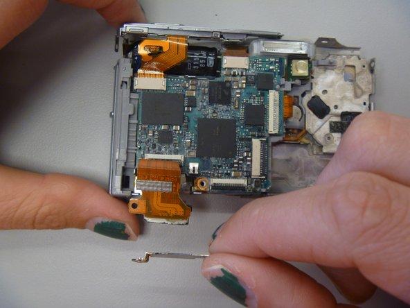 Remove metal screw plate.