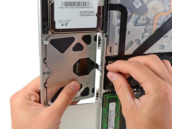 MacBook Pro 13インチユニボディ(2009年中期)トラックパッドの交換
