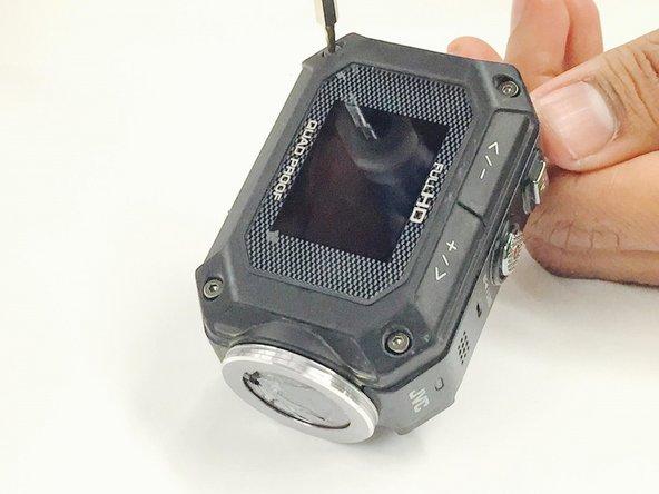 JVC Adixxion GC-XA1BU LCD Cover Replacement